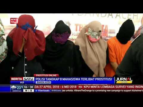 Polisi Tangkap 8 Mahasiswa Pelaku Prostitusi Online di Aceh