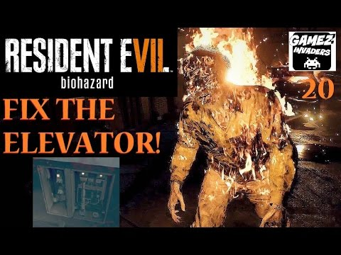 Resident Evil 7! Fix Elevator! Find Fuse & Cable! Playthrough Part 20