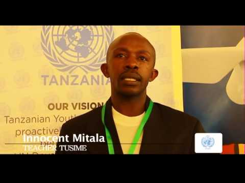 UNA Tanzania Documentary on Youth Perspectives on the MDGs and Post 2015