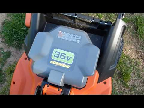 Fin Black & Decker CM1936 Cordless 36 Volt Mower - Demonstration - YouTube OT-21