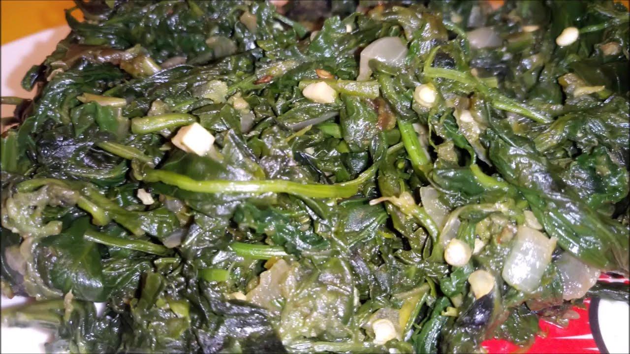 Como hacer quelites sudados de la milpa youtube Cocinar ortigas de mar