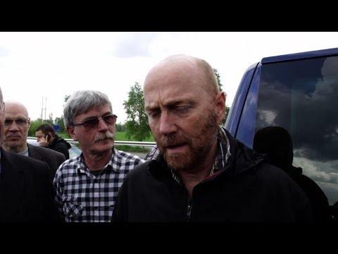 OSCE inspectors freed in east Ukraine