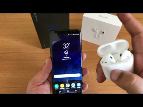 Do Apple Airpods work with Samsung Galaxy S8?