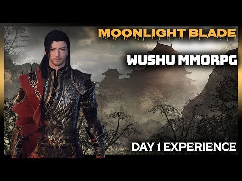 🈹MOONLIGHT BLADE (Age Of Wushu 2 Type Of Game) Wuxia MMORPG Gameplay Part 1