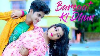 Kisi Shayar Ka Dil Banke 💕 Barsaat Ki Dhun Song  💕Jubin Nautiyal💕 Cute Love Story🌴 Ujjal Dance Group