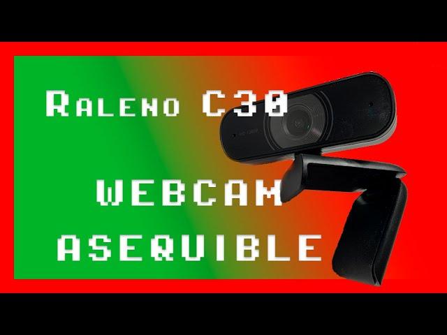 Análisis Raleno C30/Roffie UC30 (Camara Full HD 1080P)