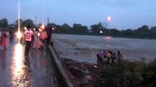Arpa Nadi Pani Ka Ufan Sawan Month Arpa River in Rainy Season