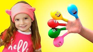 Семья пальчиков - Детская песня   Песни для детей от Тимы и Еси