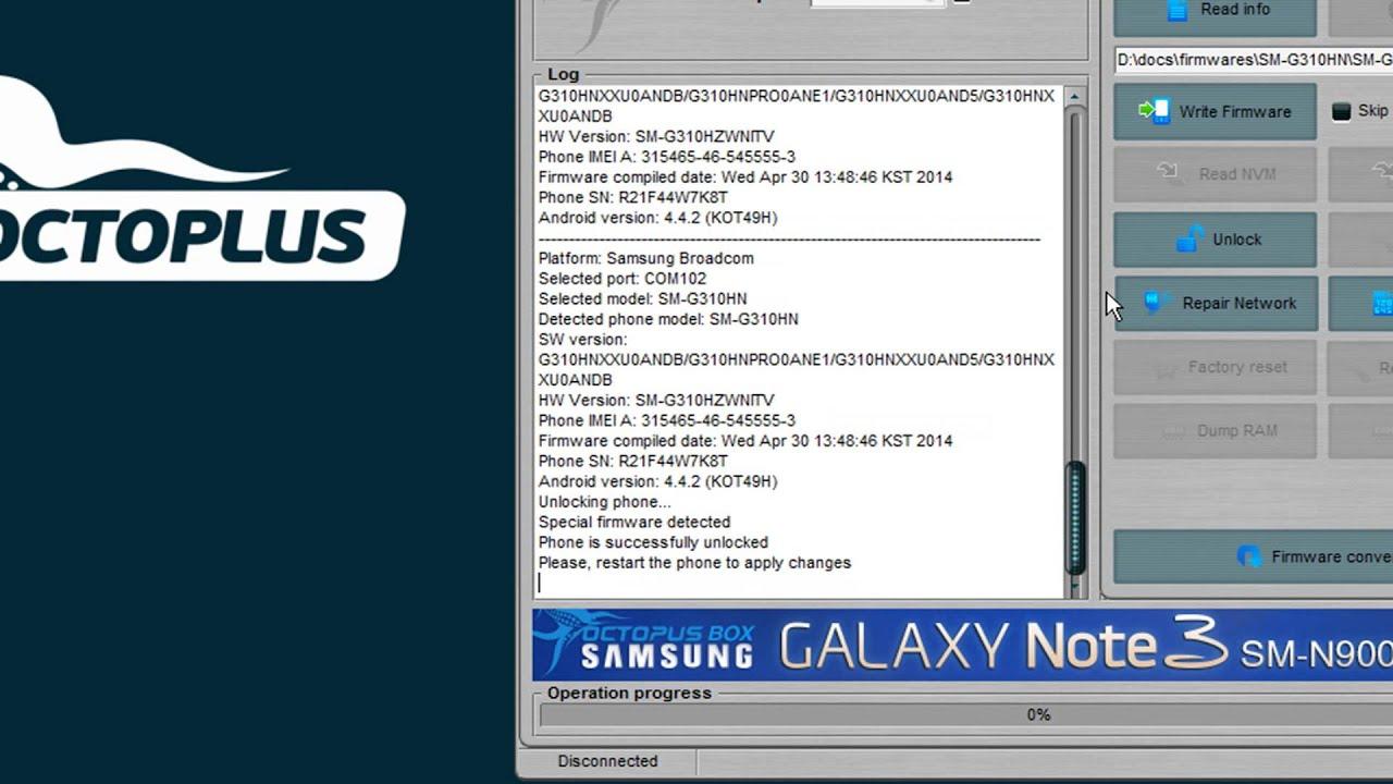 Octoplus Box Samsung Updates - Page 4 - GSM-Forum