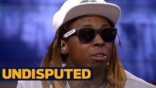 lil wayne joins skip bayless shannon sharpe to react to dez bryants post on race undisputed