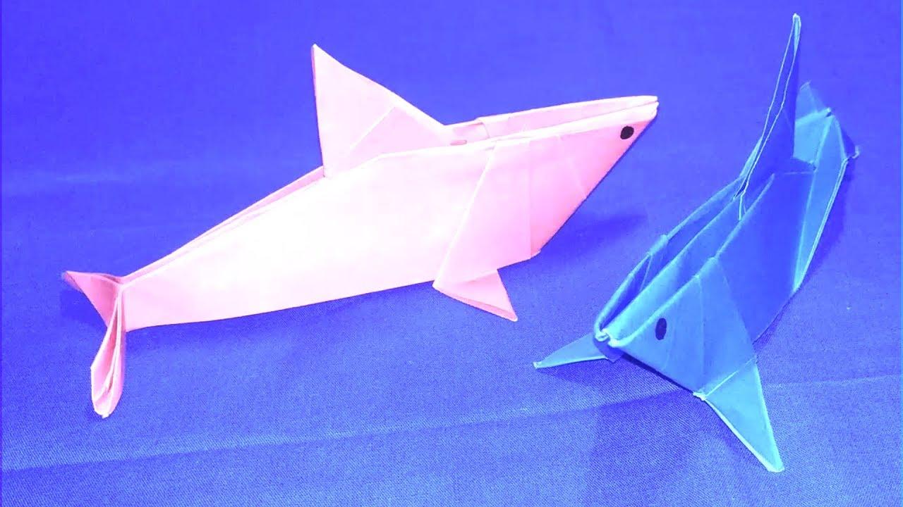 Shark Origami | Origami shark, Origami easy, Origami animals | 720x1280