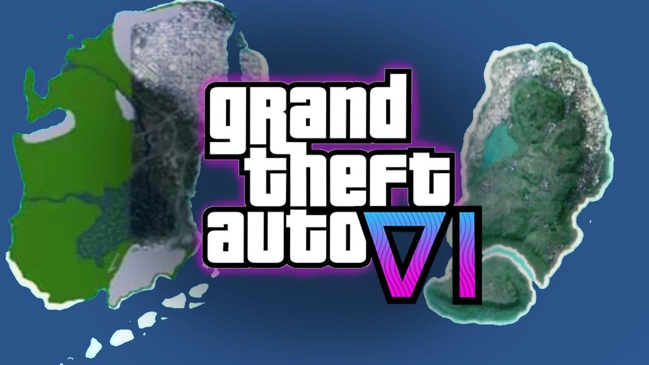 ¿SE FILTRA EL MAPA DE GTA 6? - GTA 6 Nuevas Filtraciones y Noticias