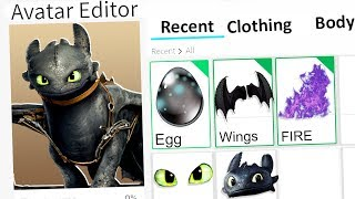 MAKING TOOTHLESS A ROBLOX ACCOUNT!!