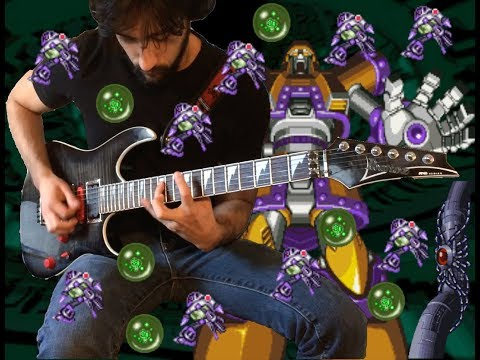 Infinity Mijinion - Weapons Center [Mega Man X6 Guitar Cover]