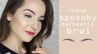 JAK PODKREŚLAĆ BRWI - kilka sposobów   Milena Makeup