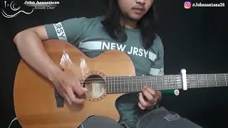 yovie Nuno Demi Hati Acoustic instrumental cover by John Acoustic26