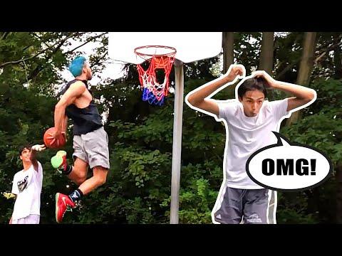 Jordan Kilganon SUPRISES players at random court!!! Reactions!