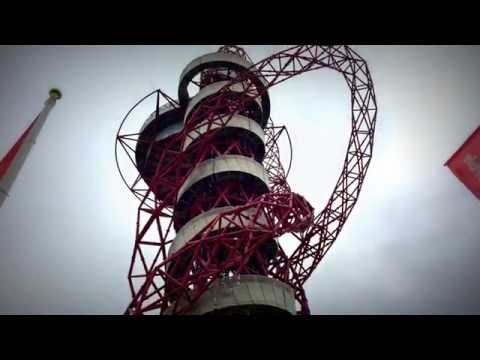 ArcellorMittal Orbit & Ticket Office at Queen Elizabeth Olympic Park, London #olympic #orbit #london