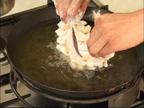 Cuisine Chinoise  9 Filet de rascasse au gingembre  YouTube