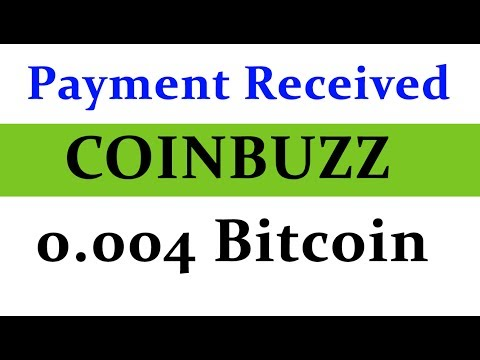 Coinbuzz Payment Proof | Earned 0.004 Bitcoin without single Investment | Unlimited Trick Added
