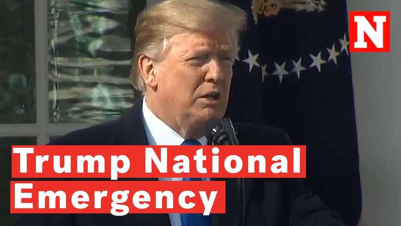 Image result for trump and national emergency Act