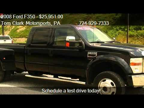 2008 Ford F350 Lariat Crew Cab DRW 4WD - for sale in Belle V
