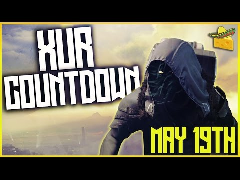 "DESTINY ""XUR COUNTDOWN / PREDICTIONS"" MAY 19TH LIVESTREAM w/ SORABLE"