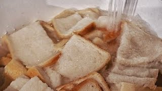 How to wash a bread