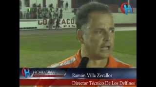 Gana Delfines Atlético Coatzacoalcos Partido de IDA Final de Liga 2014