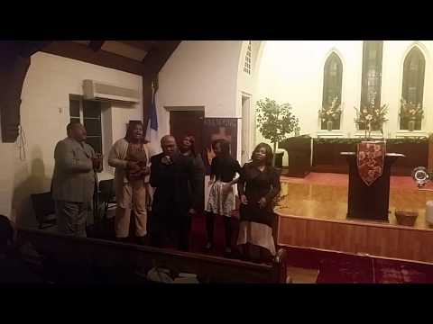 Minister Charles Johnson @ Holy Grounds church of