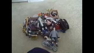 My NARUTO Action Figure Collection