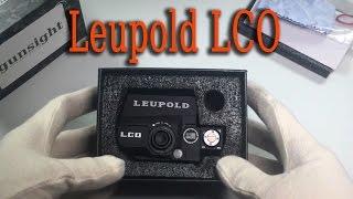 видео Коллиматорный прицел Leupold Carbine Optic (LCO) (арт.119691)
