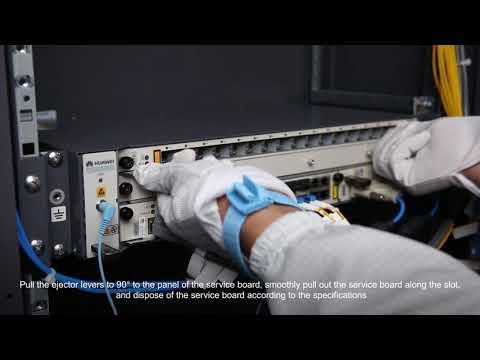 Huawei MA5608T-Replacing A 16-Port PON Service Board