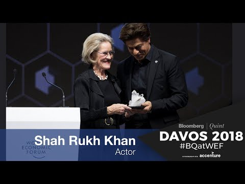 WEF 2018: ShahRukh Khan's Crystal Award Speech