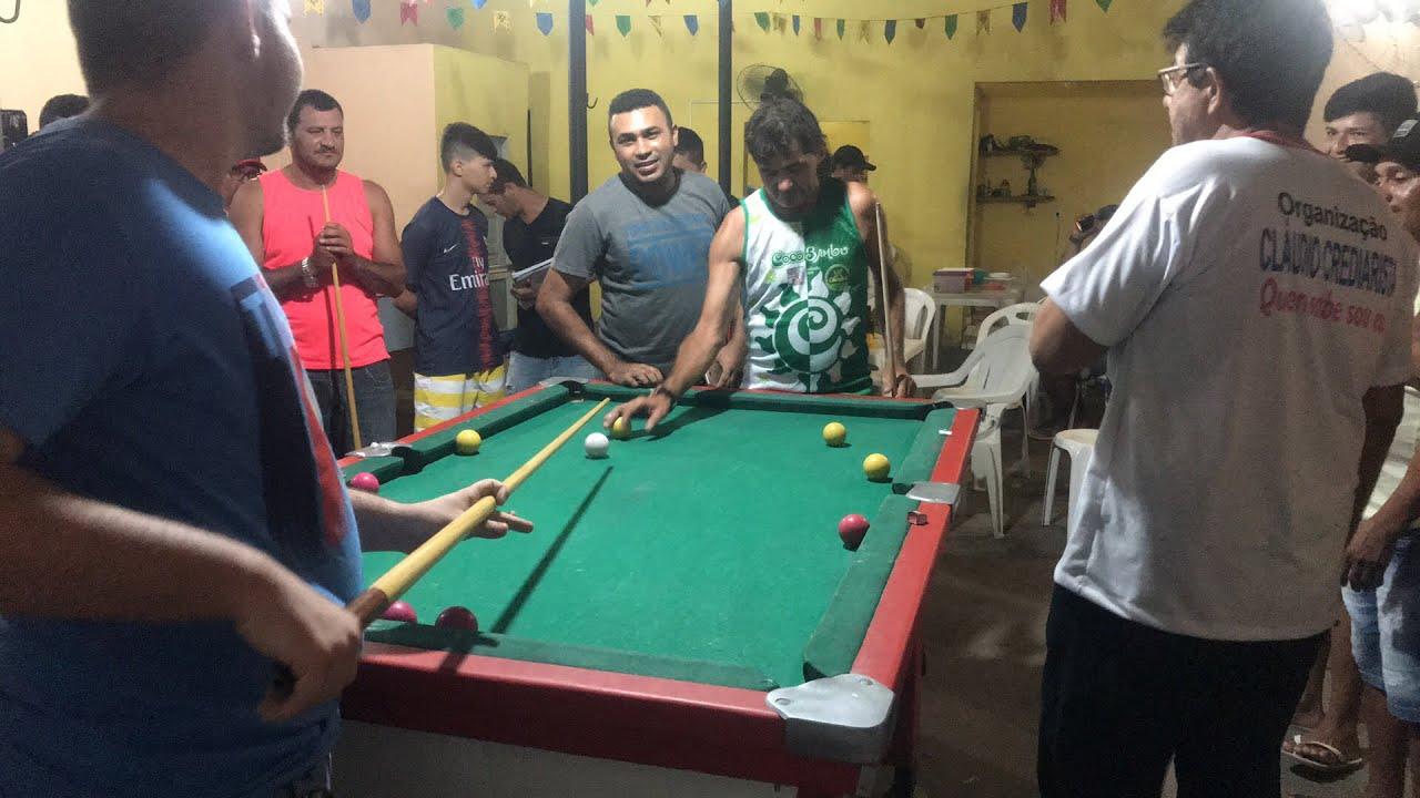 Torneio de sinuca entre amigos- Mossoró - Espetinho do Bebeto