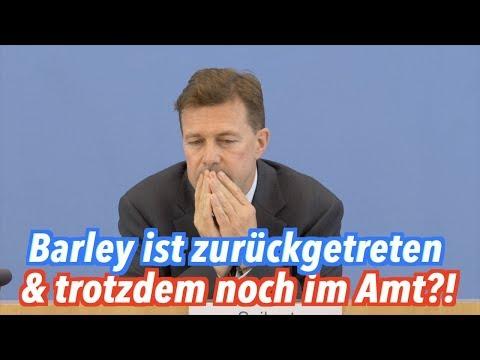 Ist Justizministerin Katarina Barley (SPD) zurückgetreten oder nicht?