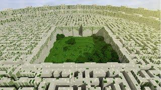 Minecraft Бегущий в лабиринте! Прохождение карты в Майнкрафт