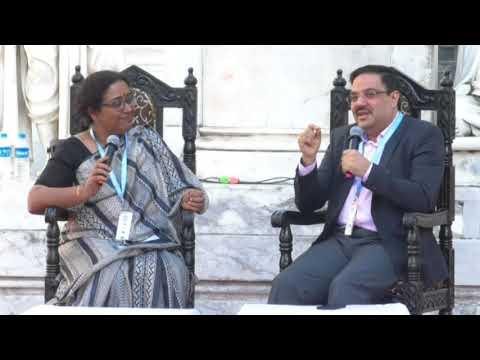 Ravi Subramanian at Kolkata Literary Meet 2018