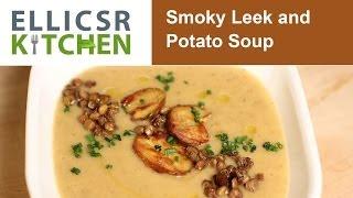 Smoky Leek & Potato Soup