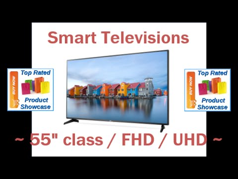 "Smart Televisions - 55"" class FHD / UHD + Bonus - Curved LED or OLED Screen - Electronics  2016"