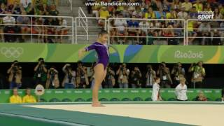 Flavia Saraiva BRA Qual Fx Olympics Rio 2016