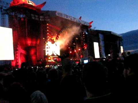 AC/DC At Download 2010 Playing Highway To Hell