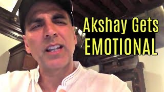 EMOTIONAL Akshay Kumar Reacts To Asifa Kathua C...