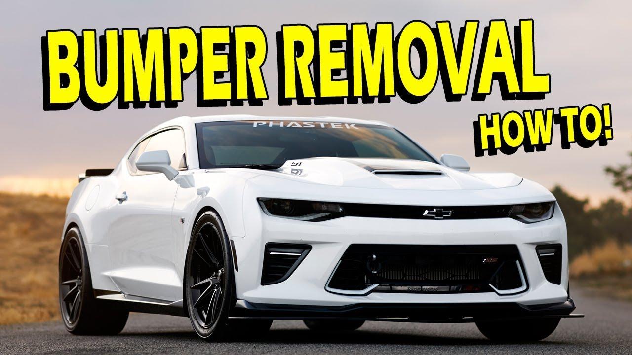 Front Bumper/Fascia Removal Guide & Some Fun 2016-2018 Camaro SS
