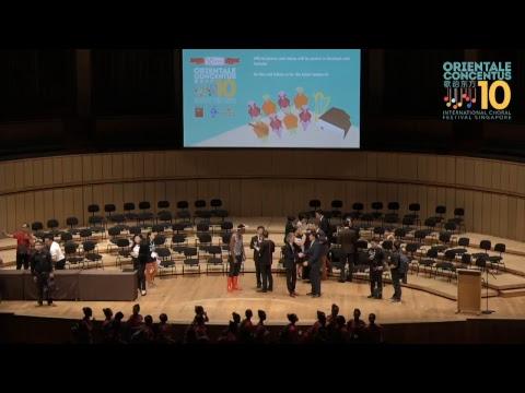 10th Orientale Concentus International Choral Festival 2017, Singapore-Grand Prix