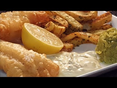 CRISPY FISH N CHIPS