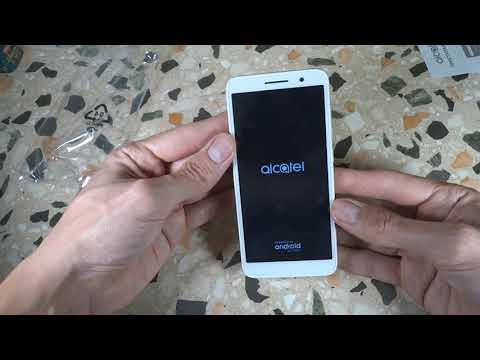 Alcatel 1 5033D - распаковка, включение + подробный текстовый обзор
