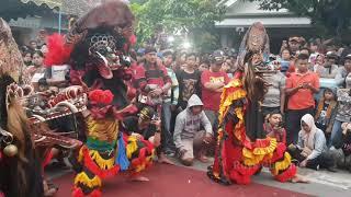 angker - Full singo barong - Rogo Samboyo Putro live dander ketami Pesantren Kota kediri