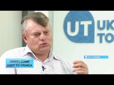 Unwelcome Visit to Crimea: They do not bring any investment as sanctions still in place