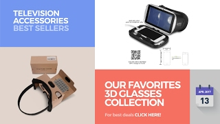 Our Favorites 3D Glasses Collection Television Accessories Best Sellers